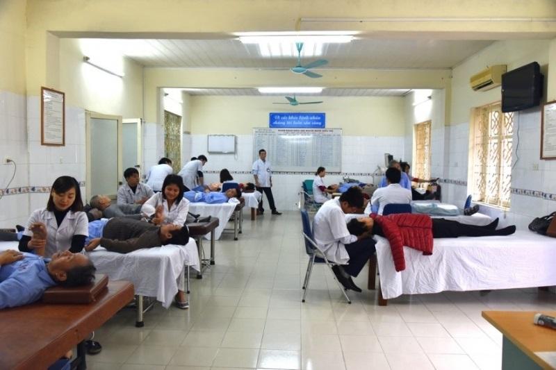 Các khoa điều trị của bệnh viện phục hồi chức năng Bình Định